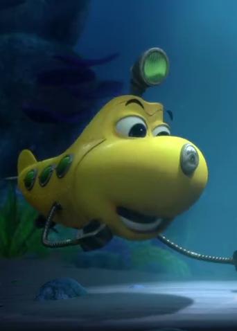"""《潜艇总动员:外星宝贝计划》""""比肩同行""""预告 海底伙伴齐心拯救外星宝贝"""