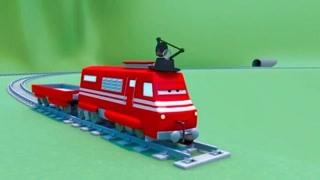 汽车城之火车特洛伊 第3季 偷铁轨的小偷 精华版
