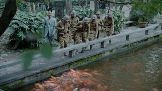 《楼外楼》何副官怂恿日军抓走西湖观赏鱼
