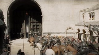 法拉米尔带领部下出城迎战 这无疑是去送死