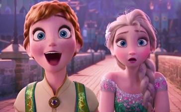 《冰雪奇缘》番外篇预告 安娜公主庆生欢乐派对