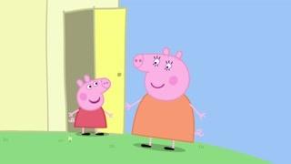 给猪妈妈的红色裙子 城里人花样儿就是多