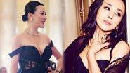 刘嘉玲的性感肩带,雪姨的写真 中年女星都作过什么妖?