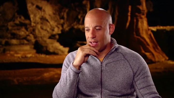 星际传奇3 花絮1:Vin Diesel访谈