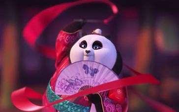《功夫熊猫3》台版片段 美美舞篇