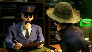 不通情理的骷髅警察