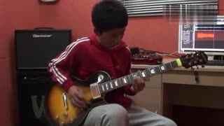 吉他教学 电吉他弹奏《火影忍者》