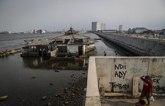 印尼雅加达地面急剧下沉 十年内恐被淹没