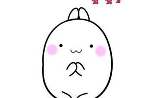 表情 土豆兔简笔画 千千简笔画 表情