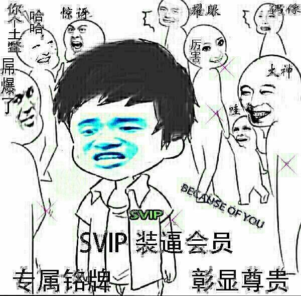 表情 SVIP 斗图表情包 爱斗图 adoutu.com 表情