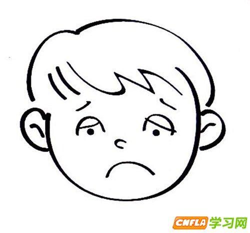 表情 害怕情绪表情包简笔画 害怕表情简笔画 害怕的表情简笔画 害怕面部表情简  表情