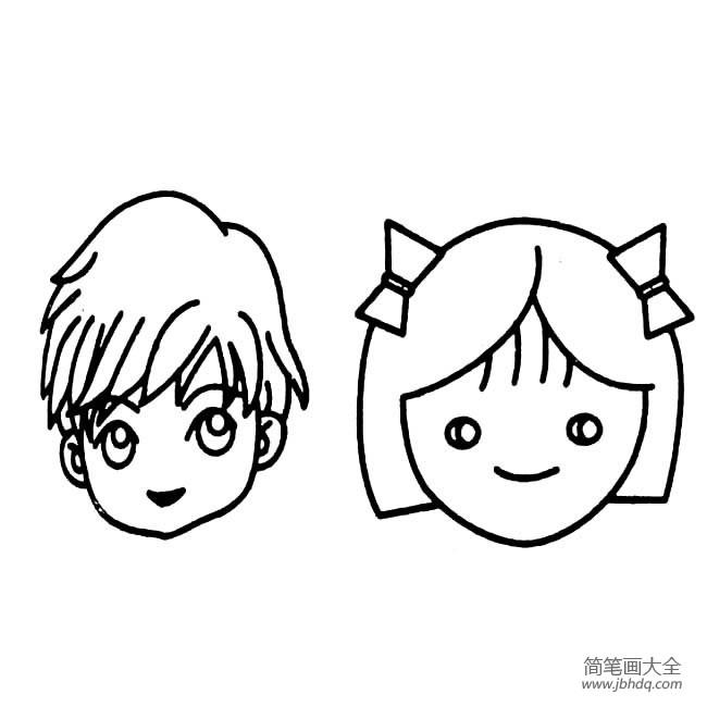 表情 人物表情简笔画 画画图片大全 表情