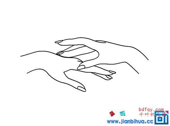 表情 女人纤纤玉手怎么画女人的手简笔画画法简笔画嫦娥和玉兔画法  表情