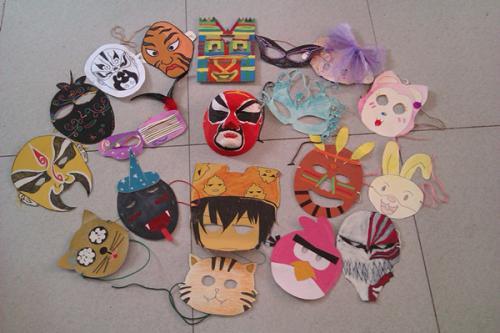 表情 儿童万圣节面具制作教程下载 万圣节儿童面具制作方法教程完整