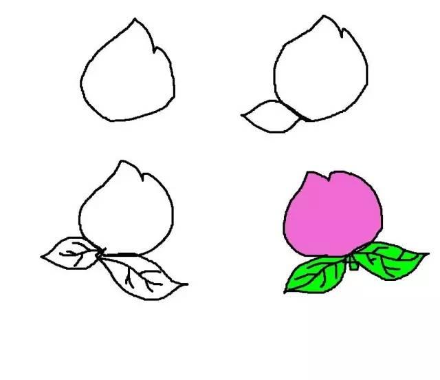 表情 带表情的水果简笔画 水果简笔画图片带颜色 蔬菜简笔画图片带颜色 简笔画  表情