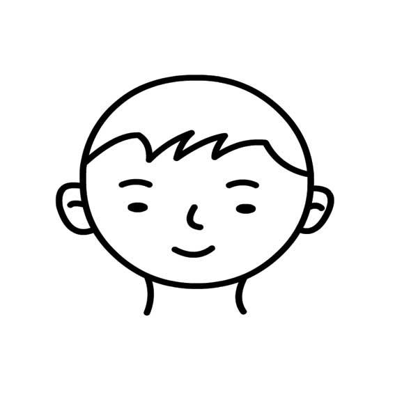 表情 男孩简笔画图片大全 可可简笔画 表情