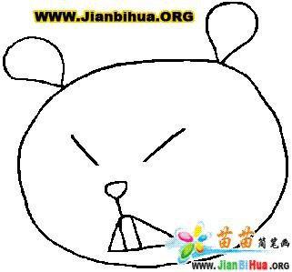 表情 小孩表情简笔画 第1页 一起QQ网 表情