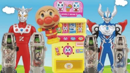 表情 捷德奥特曼融合变身器奥特胶囊玩具 在线播放 小美玩具奥特曼