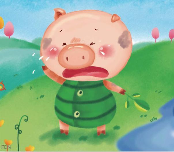 表情 小猪洗澡简笔画 好看的画大全 表情