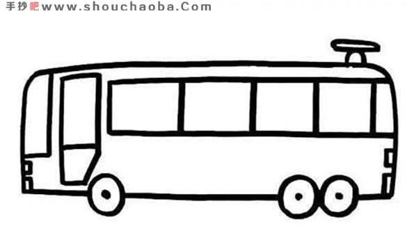 表情 公交车简笔画教程公交车简笔画大全 表情