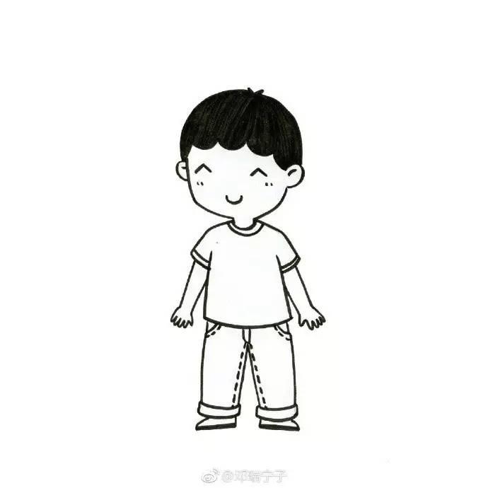 表情 人物画像的简笔画 图片 人物画像的简笔画 表情包gif动画 表情