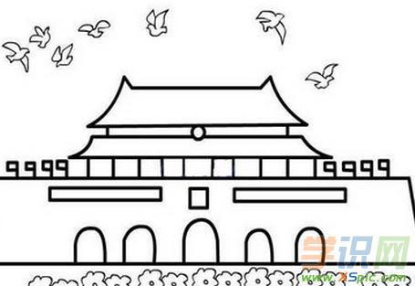 表情 欢庆国庆节的画简笔画图片 欢庆国庆节的画简笔画图片下载 表情