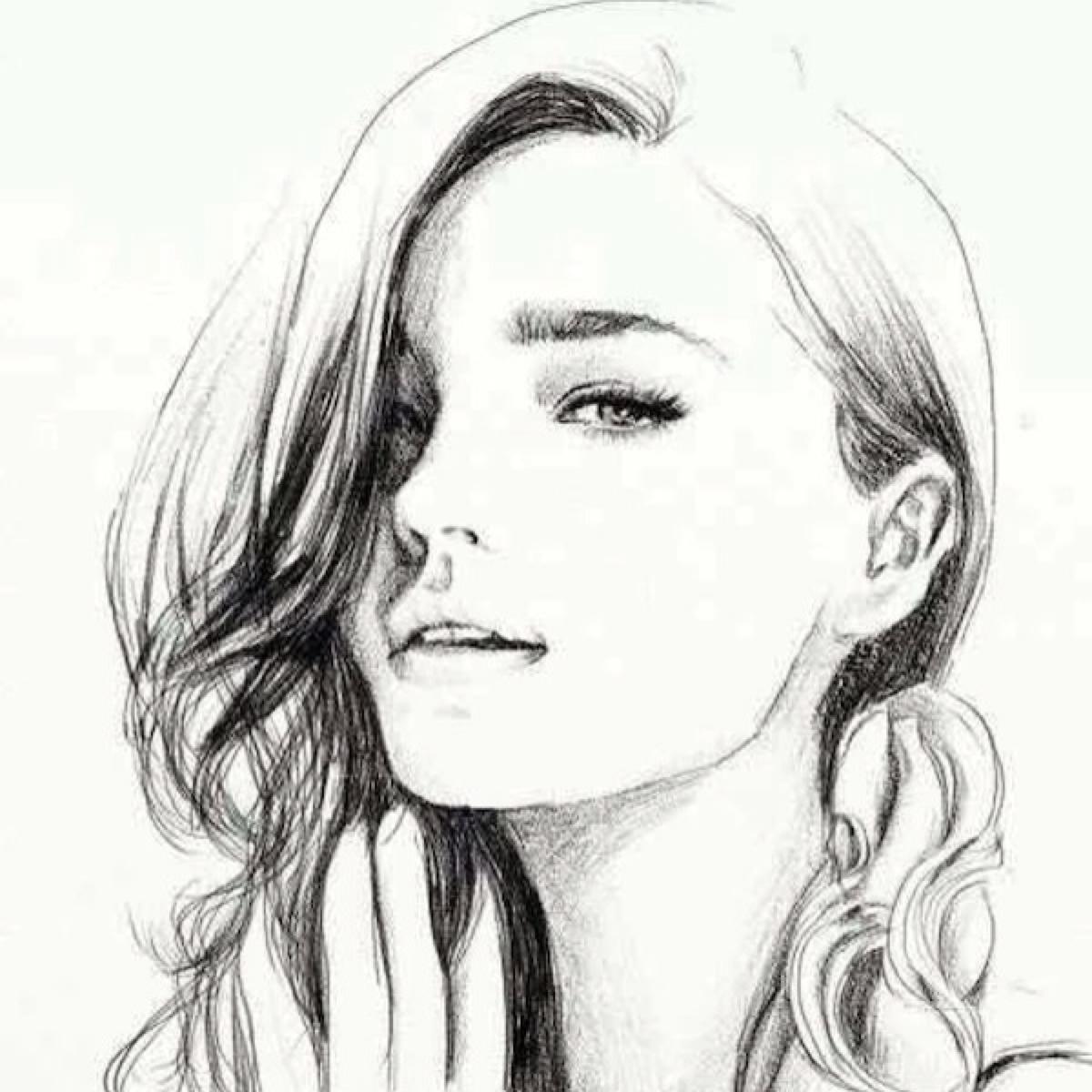 表情 小清新有个性的欧美风彩绘QQ头像适合微信头像的欧美手绘图集欧美头像Q  表情