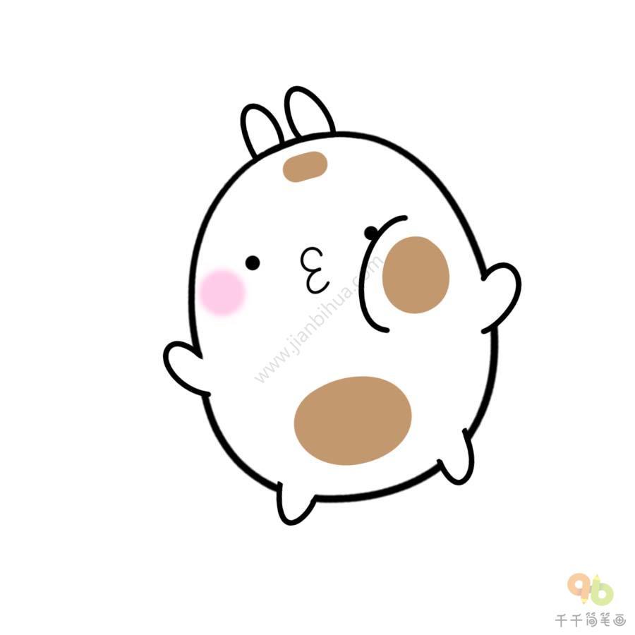 表情 土豆兔挨揍表情包 表情包 千千简笔画 表情