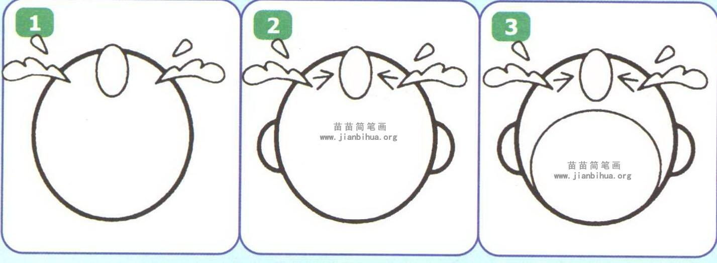表情 苗苗简笔画 www.jianbihua.org 苗苗简笔画 wmww.jianbihua.org 表