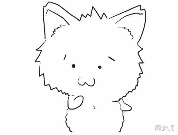 表情 图 小狗与蛇简笔画教程小狗与蛇简笔画怎么画 图老师 表情