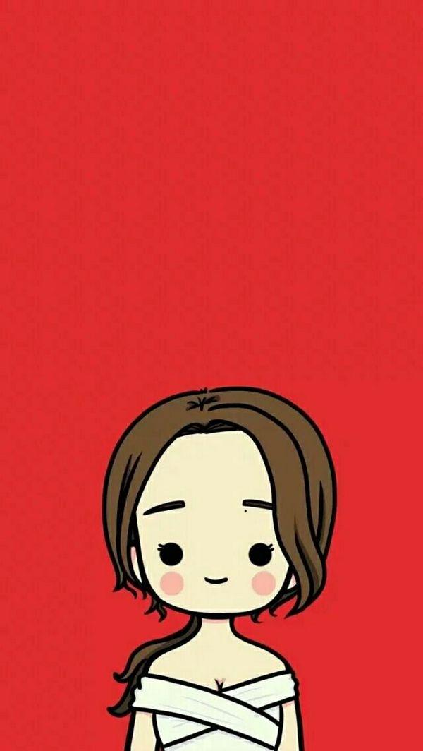 表情 纯色背景可爱动漫情侣皮肤大图 情侣QQ皮肤 窝窝QQ网 表情图片
