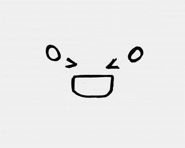 表情 可爱超萌表情符号简笔画图片,表情符号,萌图,可爱,简笔