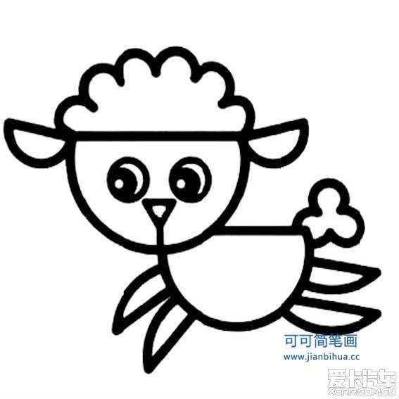 表情 动物简笔画表情四个小动物 第2页 一起QQ网 表情