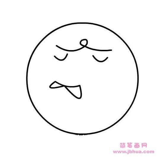表情 人物表情卡通简笔画 第4页 一起QQ网 表情