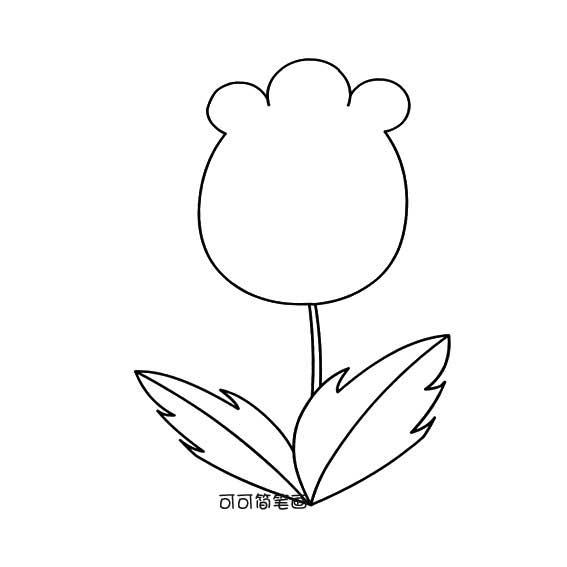 表情 幼儿简笔画花的画法 简单的花卉简笔画 育才简笔画 表情