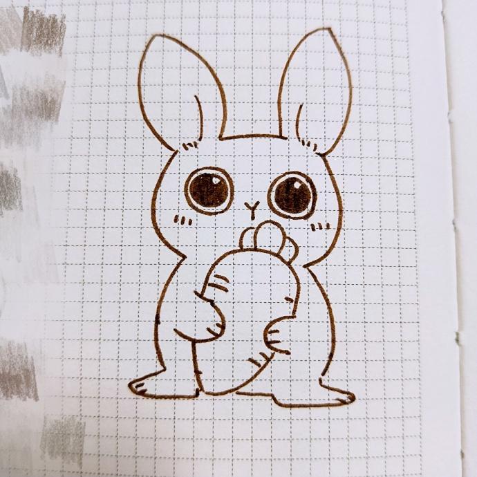 表情 抱胡萝卜的小兔子简笔画千千简笔画人人都能轻松画简笔画图片大