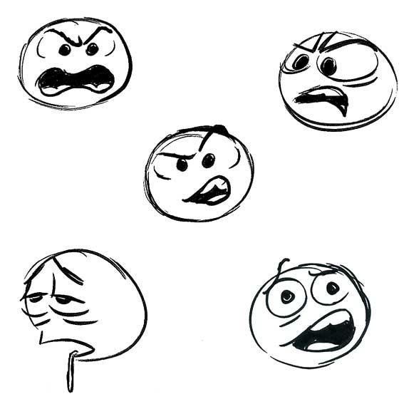 表情 高兴的表情图片简笔画图片 高兴的表情图片简笔画图片下载 表情