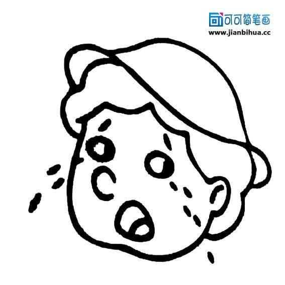 表情 难过的简笔画表情图片 12张 表情图片 表白句 表情