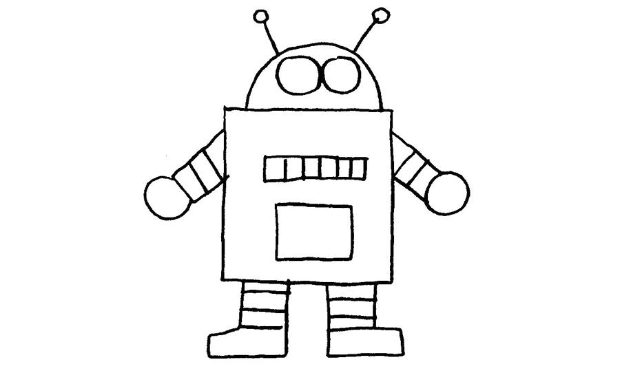 表情 简笔画图片人物简笔画 机器人这里是汉服帅哥圆领袍简笔画的绘画  表情