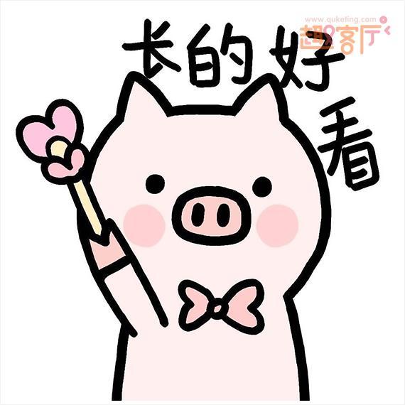 表情 精致猪猪女表情包pp猪的日常微信表情 趣客厅 表情