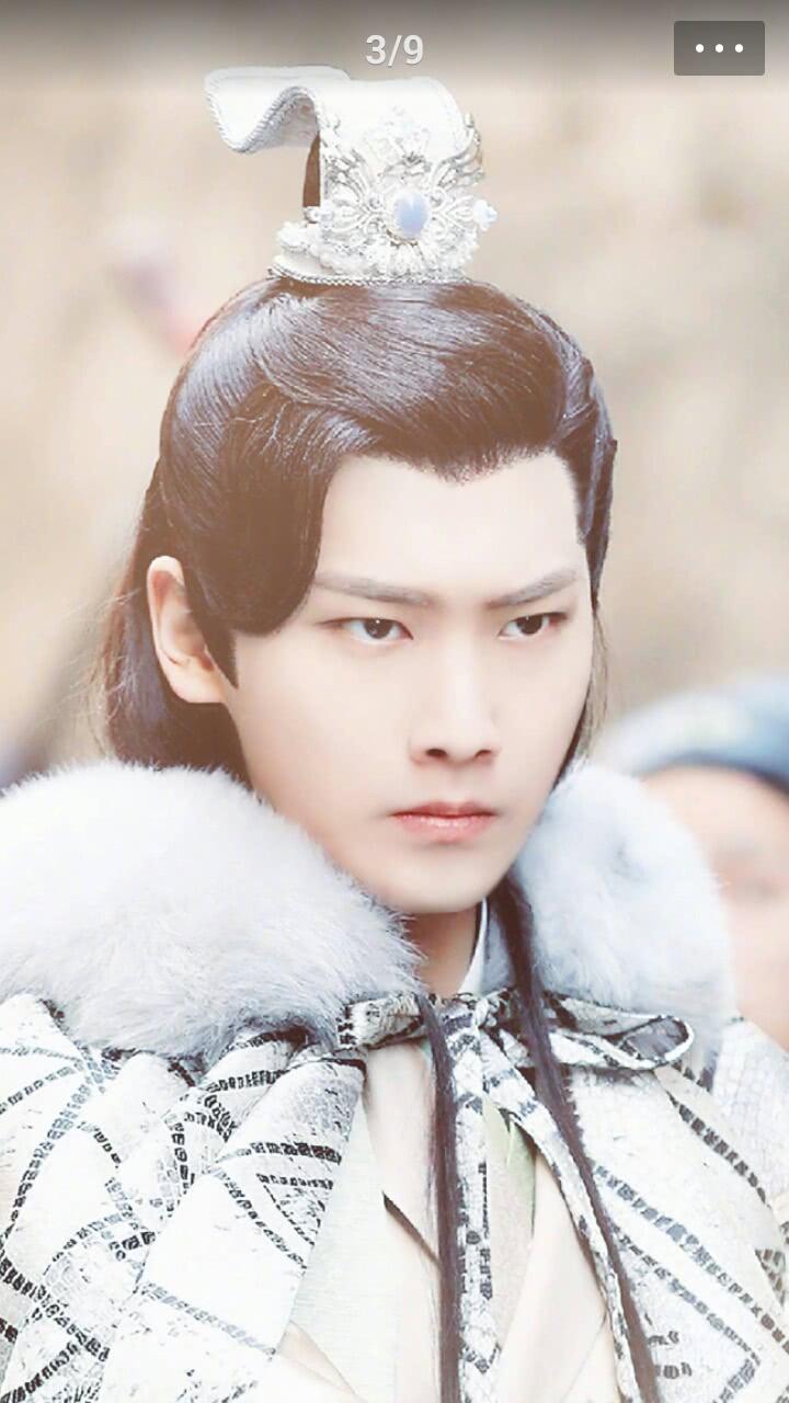 表情 不同于黄轩李易峰,邢昭林与杨洋之间就差一个双眼皮 表情