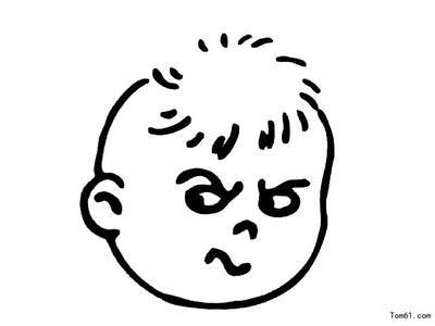 表情 生气表情简笔画推荐 生气简笔画 表情