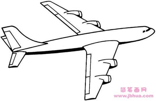表情 儿童飞机简笔画 简笔画网 表情