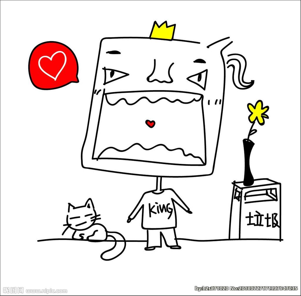 表情 简笔画 表白设计图 动漫人物 动漫动画 设计图库 昵图网nipic.com