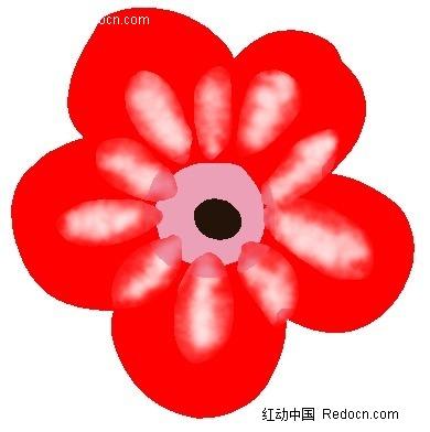 表情 奖励小红花简笔画 一朵小红花简笔画 老师奖励小红花简笔画 奖励一朵小红  表情