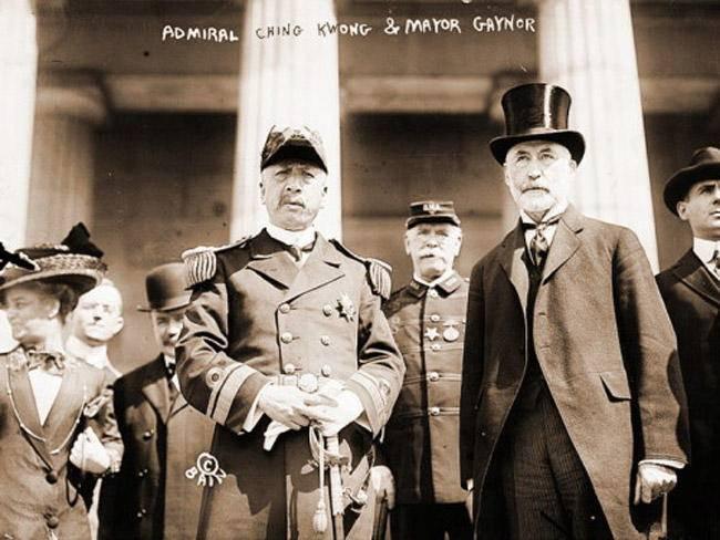 表情 1911年清朝海军出访八国 9P 中国历史 铁血社区 表情