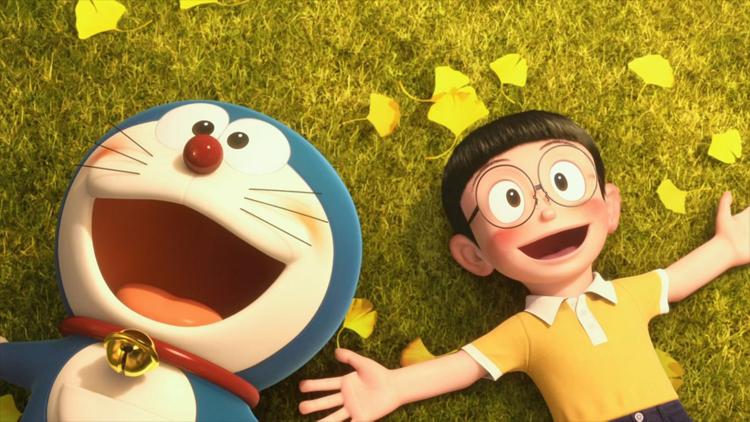 表情 哆啦a梦伴我同行3D动漫图片大雄和哆啦A梦的故事 动漫图片 图图片