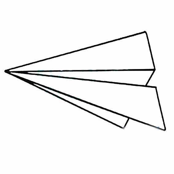 表情 简笔画纸飞机 简笔画纸飞机画法 表情