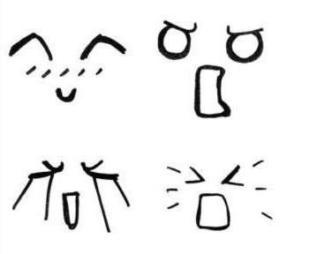 表情 简笔画 来自安道儿的图片分享 堆糖 笑脸表情简笔画题临安邸,顺丰客服  表情