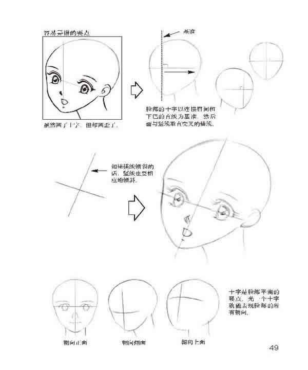 表情 儿童简笔画人物各类男女小孩面部表情图片 贴画网 表情